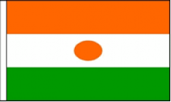 Niger Hand Waving Flags