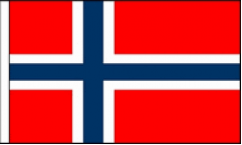 Norway Hand Waving Flags