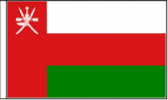 Oman Hand Waving Flags