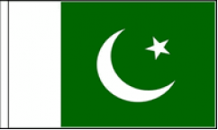 Pakistan Hand Waving Flags