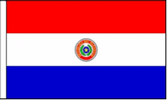 Paraguay Table Flags
