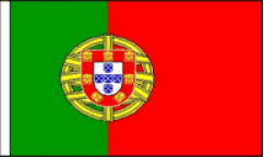 Portugal Hand Waving Flags