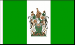 Rhodesia Hand Waving Flags