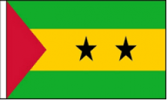 Sao Tome and Principe Hand Waving Flags