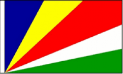 Seychelles Hand Waving Flags
