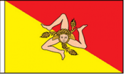 Sicily Table Flags