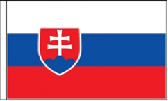 Slovakia Table Flags