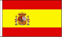 Spain Hand Waving Flags