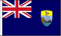 Saint Helena Hand Waving Flags