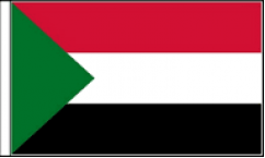 Sudan Hand Waving Flags