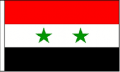 Syria Hand Waving Flags