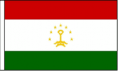 Tajikistan Hand Waving Flags