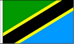 Tanzania Table Flags