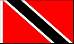Trinidad and Tobago Hand Waving Flags