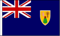 Turks and Caicos Hand Waving Flags