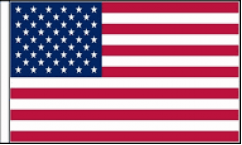 United States Hand Waving Flags