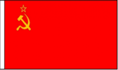 USSR Hand Waving Flags