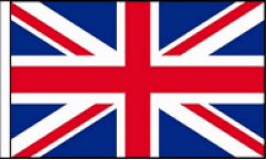 British Table Flags
