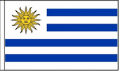 Uruguay Table Flags