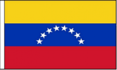 Venezuela Hand Waving Flags
