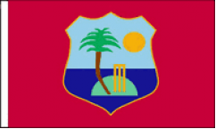 West Indies Table Flags