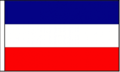 Yugoslavia Table Flags