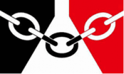 Black Country Table Flags