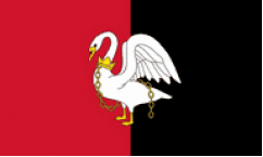Buckinghamshire Table Flags