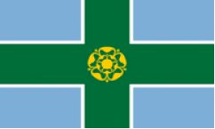 Derbyshire Table Flags
