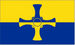 Durham County Table Flags