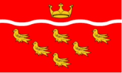 East Sussex Table Flags