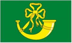 Huntingdonshire Table Flags