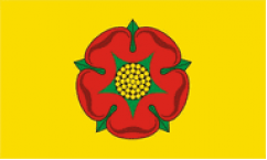 Lancashire Table Flags