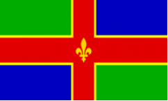 Lincolnshire Table Flags