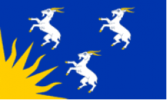 Merionethshire Table Flags