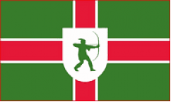 Nottinghamshire Table Flags