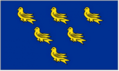 Sussex Table Flags