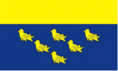 West Sussex Table Flags