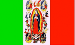 Lady of Guadalupe Flags
