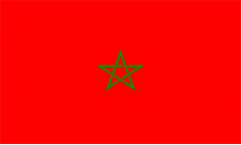 Morocco World Cup 2018 Flags