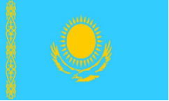 Kazakhstan Flags