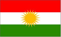 Kurdistan Flags