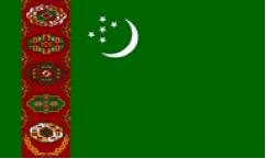 Turkmenistan Flags