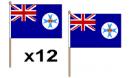 Queensland Hand Flags
