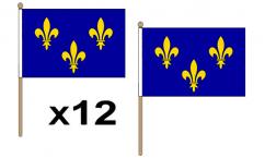 French Regional Hand Flags