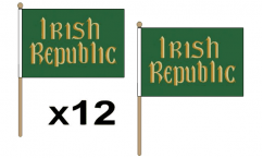 All Irish Hand Flags