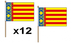 Spanish Regional Hand Flags