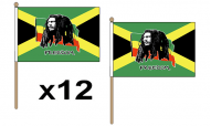 Smoking/Rasta Hand Flags