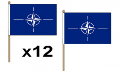 NATO Hand Flags