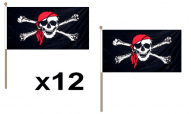 Pirate Hand Flags